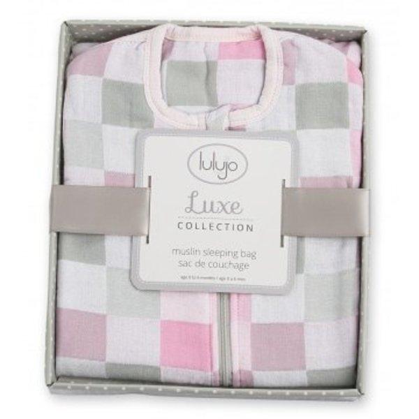 Lulujo Lulujo Baby Slaapzak roze