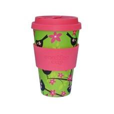 Ecoffee Bio Koffiebeker Widdlebirdy