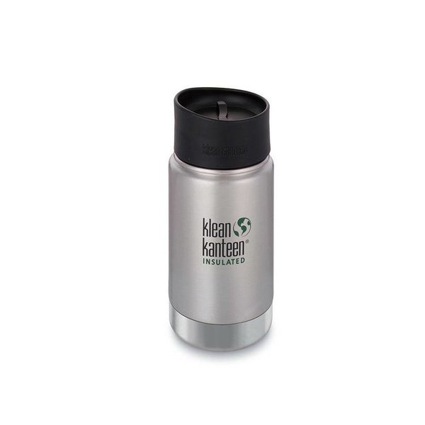 Klean Kanteen - rvs drinkfles / waterfles Klean Kanteen Wide thermosbeker café 355 ml rvs