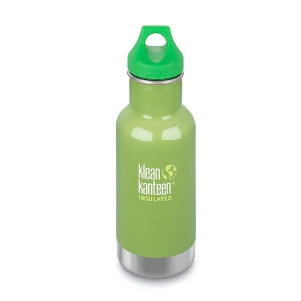 Klean Kanteen - rvs drinkfles / waterfles Kid Kanteen thermos drinkbeker 355 ml groen