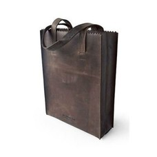 MYOMY My Paper Bag Long Handle - Dark Chocolate