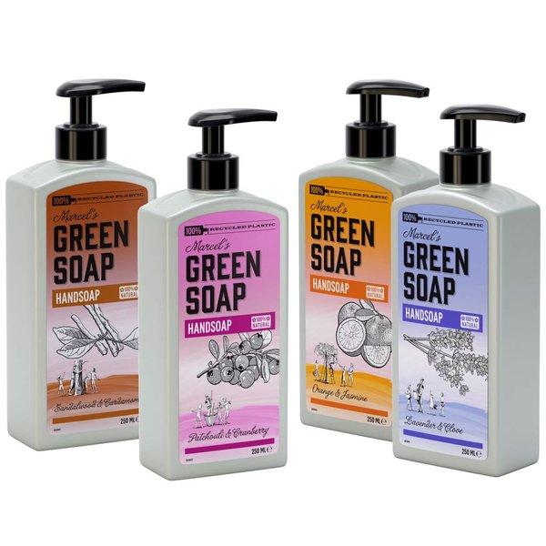 Marcel's Green Soap Marcel's Green Soap Handzeep Patchouli & Cranberry