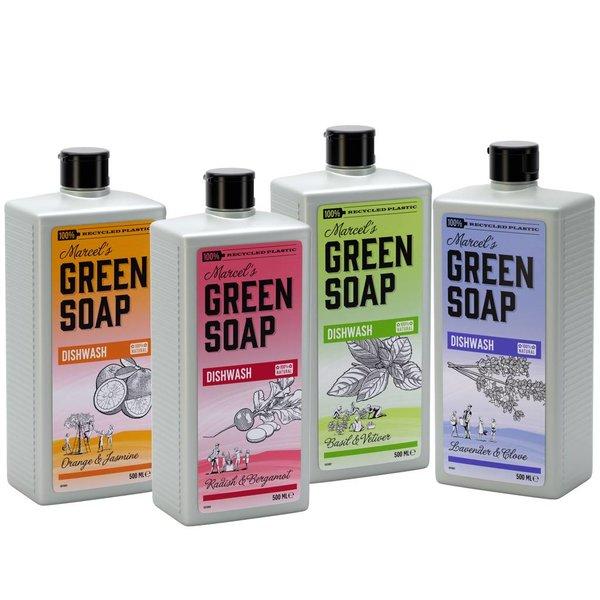Marcel's Green Soap Marcel's Green Soap Afwasmiddel Radijs & Bergamot