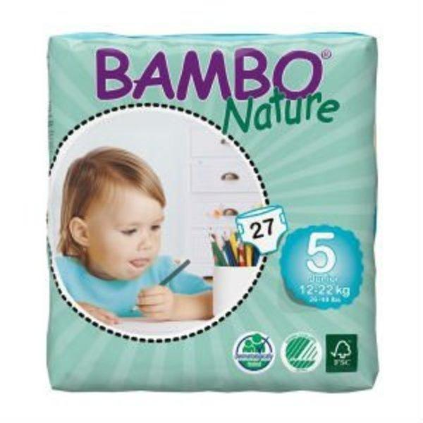 Bambo Bambo Luiers Maat 5 Junior (12-22 kg) 27 stuks