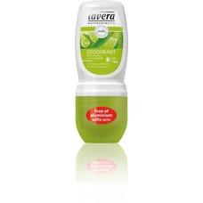 Lavera Deodorant roll on limoen & verveine