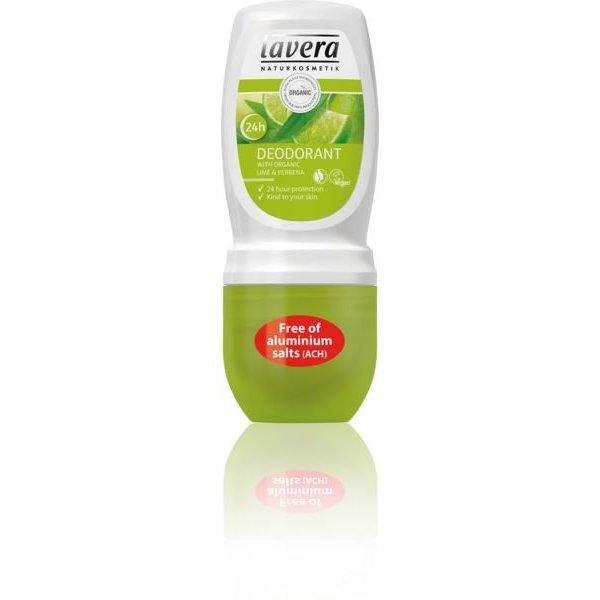 Lavera Lavera Deodorant roll on limoen & verveine