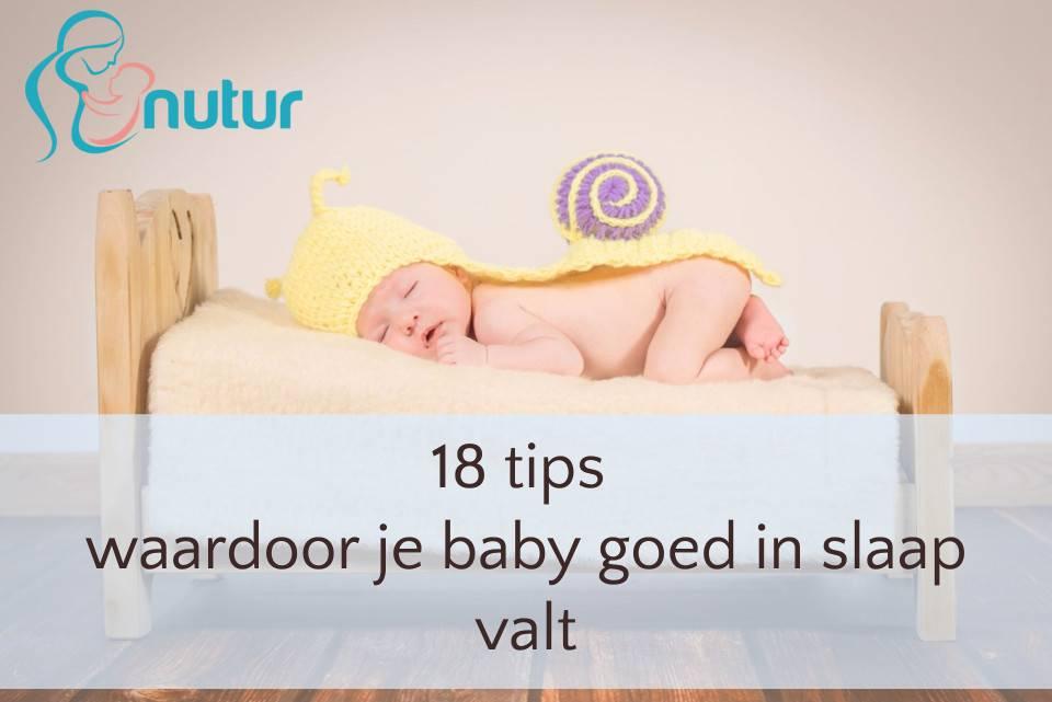 18 tips waardoor je baby goed in slaap valt