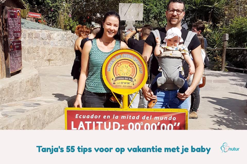 Tanja's 55 beste tips voor op vakantie gaan met een baby