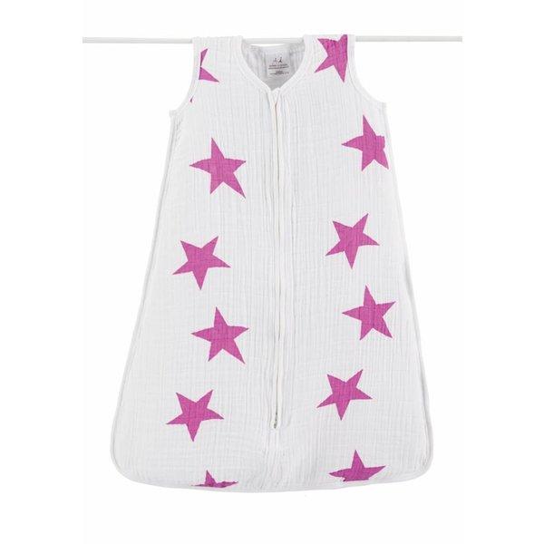 Aden en Anais Slaapzak Twinkle Pink  - Small