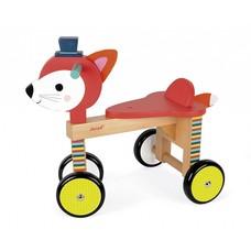 Janod Janod houten loopfiets - vos