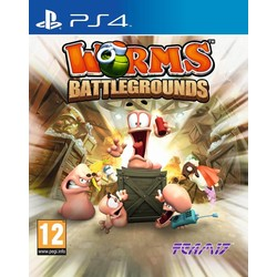 Team 17 Worms Battlegrounds - PS4