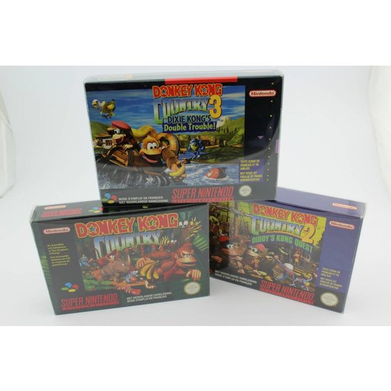 Snes Games Boxed