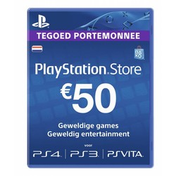 Sony Computer Entertainment PlayStation Network Card (€ 50,-)