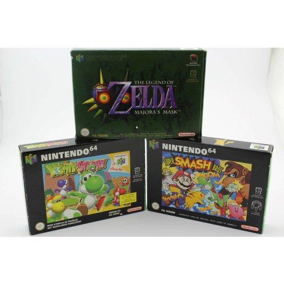 N64 Games Boxed