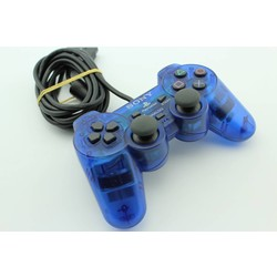 Sony Computer Entertainment PS2 Controller (Dual Shock 2) Ocean Blue (Origineel) [Gebruikt]