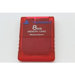 Sony Computer Entertainment PS2 Memory card 8Mb (Origineel) Clear Red [Gebruikt]