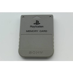 Sony Computer Entertainment PS Memory card (Origineel) Grey [Gebruikt]