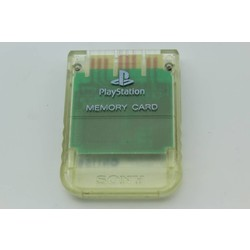 Sony Computer Entertainment PS Memory card (Origineel) Clear [Gebruikt]