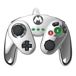 PDP Super Smash Bros Controller - Metal Mario -