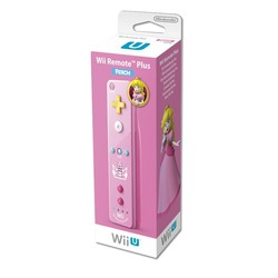 Nintendo Remote Controller - Motion Plus - Peach Edition -