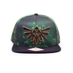 Bioworld NINTENDO - ZELDA ALL OVER PRINTED SNAPBACK
