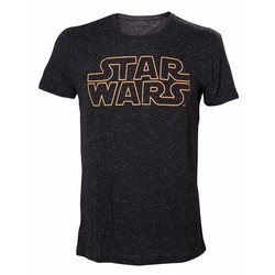 Bioworld STAR WARS - STARS AND LOGO T-SHIRT