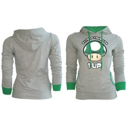 Bioworld NINTENDO - EXTEND YOUR LIFE GIRLS HOODIE