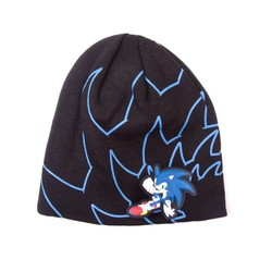 Bioworld SEGA - SONIC BEANIE WITH RUBBER PRINT