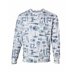 Bioworld STAR WARS - VEHICLES AND STARSHIPS SWEATER