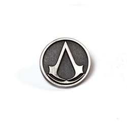 Bioworld ASSASSIN'S CREED - METAL ROUND PIN WITH LOGO