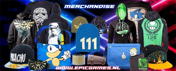 Merchandise & Kleding