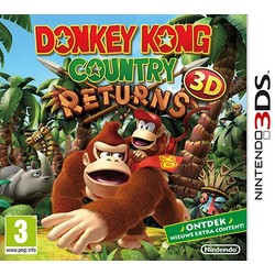 Nintendo Donkey Kong Country Returns 3D - 3DS/2DS