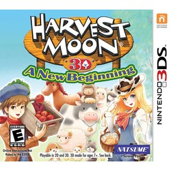 Maximum Games Harvest Moon 3D - A New Beginning - 3DS/2DS
