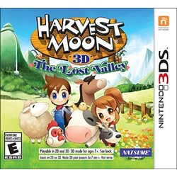 Rising Star Games Harvest Moon, The Lost Valley - 3DS/2DS