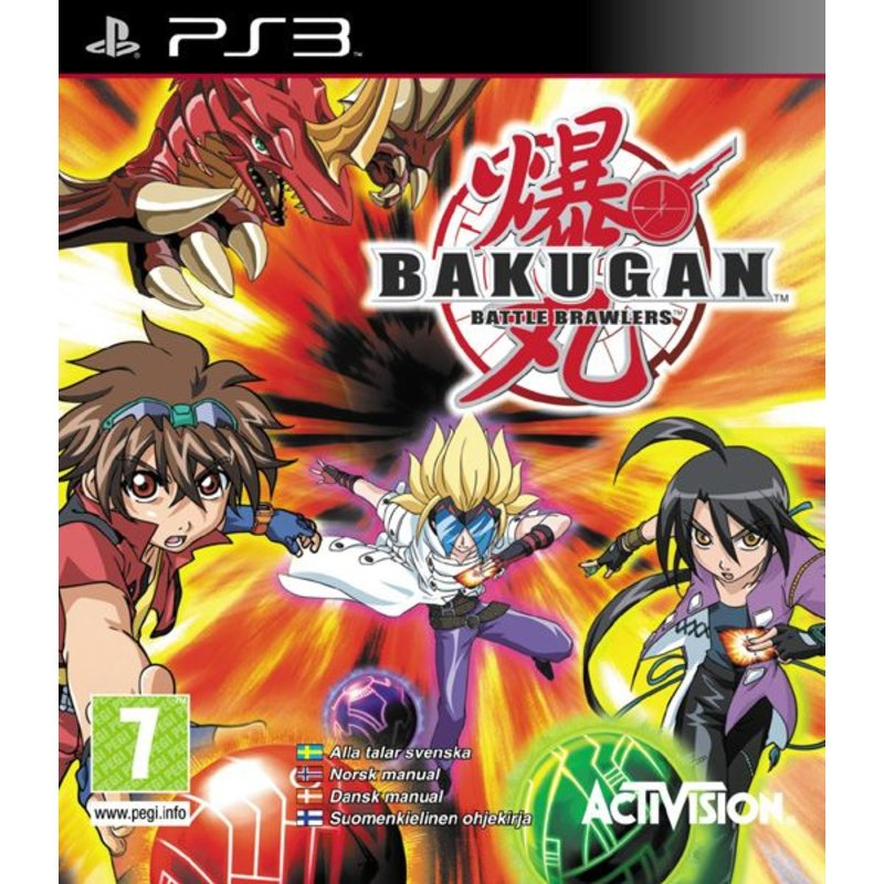 Activision Bakugan Battle Brawlers - PS3