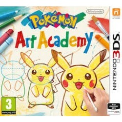 Nintendo Pokemon Art Academy - 3DS/2DS