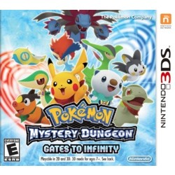 Nintendo Pokémon Mystery Dungeon - Gates to Infinity - 3DS/2DS