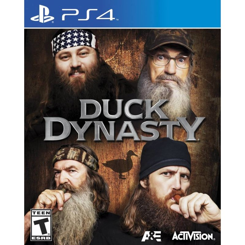 Activision Duck Dynasty (Import) - PS4