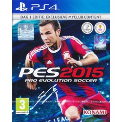 Konami PES 2015 - Pro Evolution Soccer (Day One Edition) - PS4