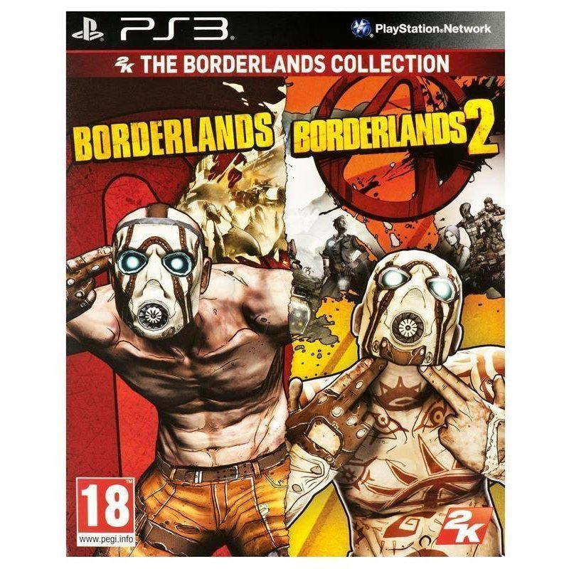 2K Games Borderlands 1+2 Double Pack - PS3