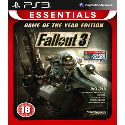 Bethesda Fallout 3 Game of the Year Edition - PS3 (Essentials)