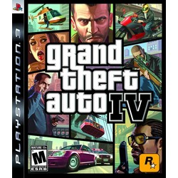 Rockstar Grand Theft Auto IV - PS3