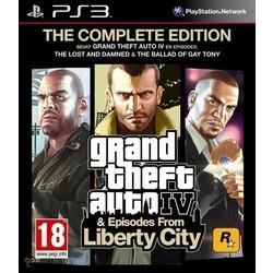 Rockstar Grand Theft Auto IV (Complete Edition) - PS3