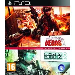 Ubisoft Rainbow Six Vegas 2 + Ghost Recon Advanced Warfighter 2 - PS3