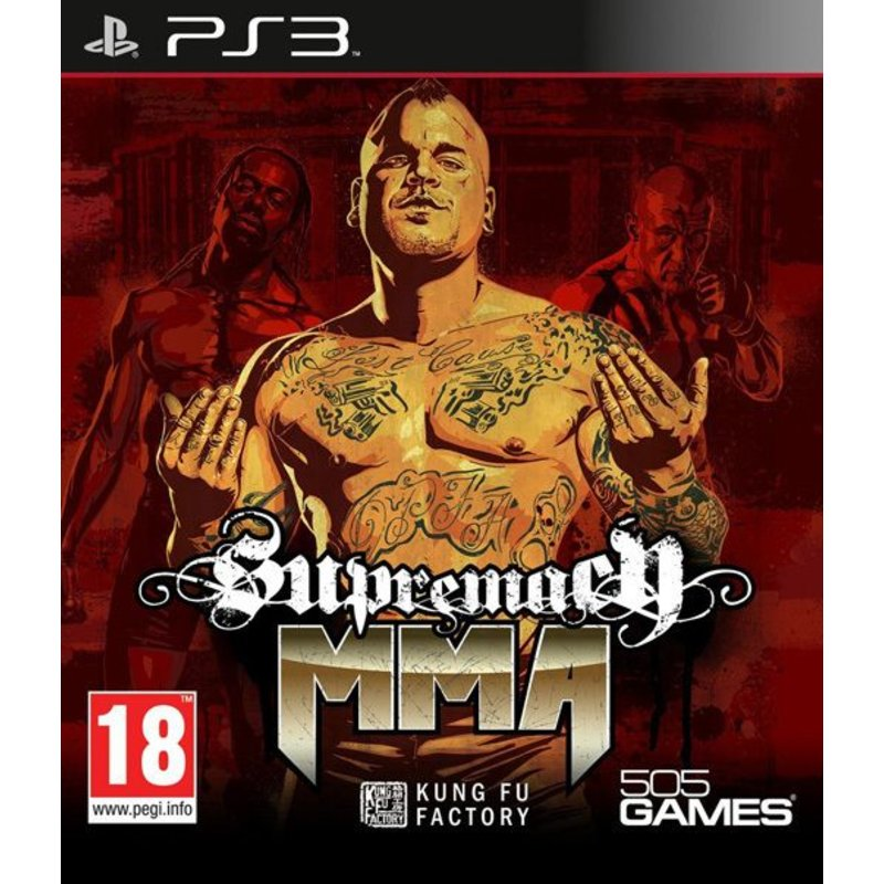 505 Games Supremacy MMA - PS3
