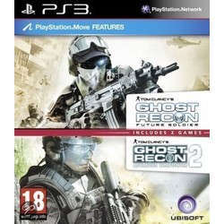 Ubisoft Tom Clancy's Ghost Recon Future Soldier & Advanced Warfighter 2 - PS3 (Double Pack)