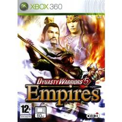 Koei Dynasty Warriors 5 Empires - Xbox 360 [Gebruikt]