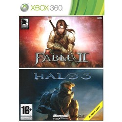 Microsoft Fable 2 + Halo 3 (Double Pack) - Xbox 360 [Gebruikt]