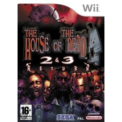 SEGA House Of The Dead 2&3 Return - Wii [Gebruikt]
