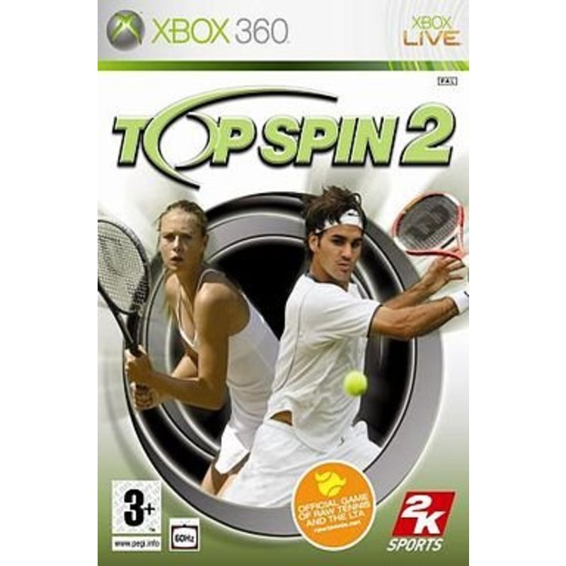 2K Games Top Spin 2 - Xbox 360 [Gebruikt]